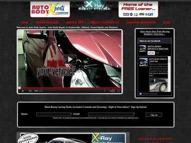 Custom website with CSM / MOD_Rewrite