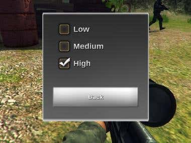 Shooter controls