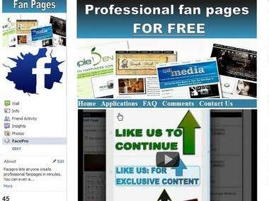 Facebook Fan Page,