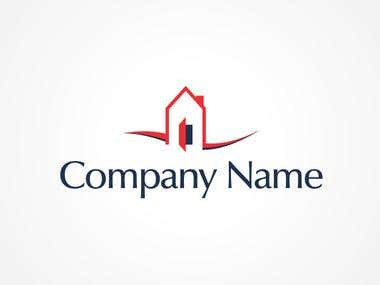 logo design  for real state company