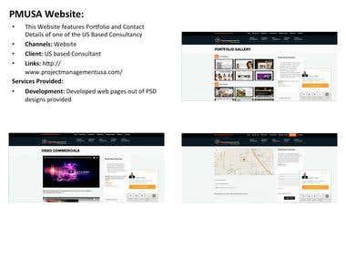 PMUSA Website