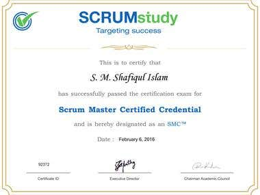 SMC™ (Scrum Master Certified)