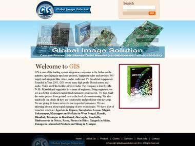 The snap of gis website
