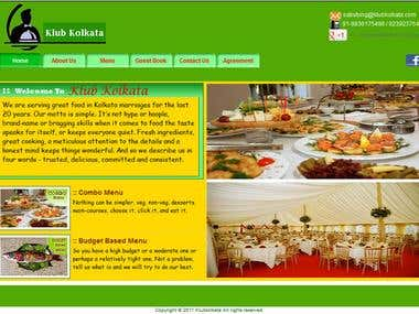 The snap of KlubKolkata website