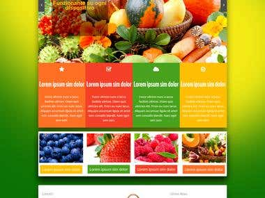 Agriculture Web Design