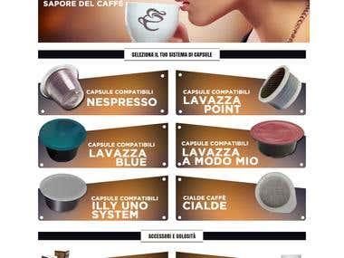 Coffee Retail Website Ecommerce