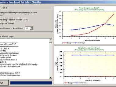 Algorithm Comparison Simulation