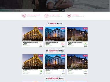 Hotel Center - WP theme