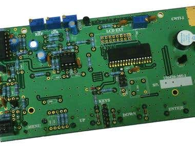 Main controller board for Broadcast RF Amplifiers