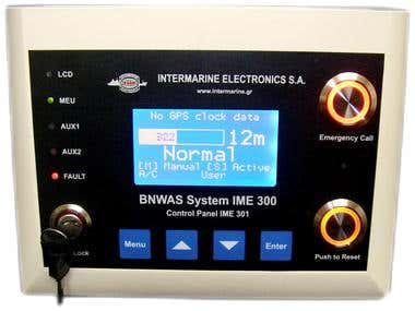 BNWAS Display Unit