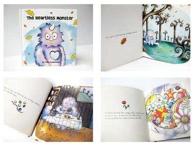Book Design and Illustration