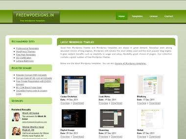 Free Wordpress Themes