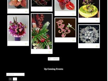Web Site Development / Web Revamp for www.floraelements.com