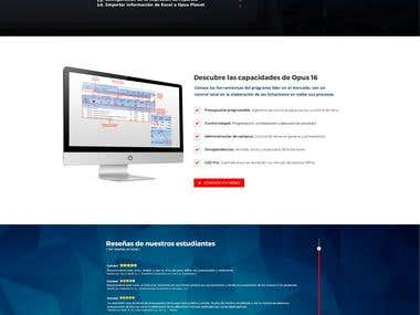 Opus: Course Landing Page