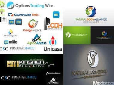 Few recently logos