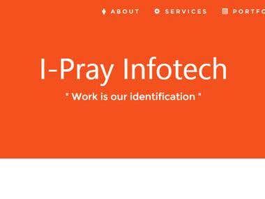 Company Website (www.iprayinfotech.com)