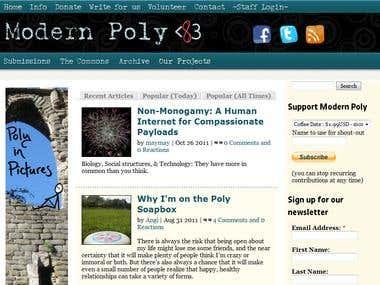 Modern Poly (website