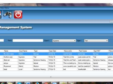 lawyer management system