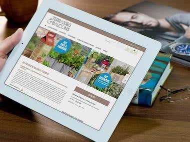 Website creation E-commerce