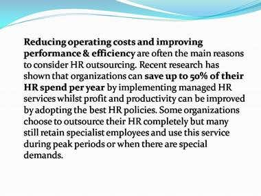 Benefits of Managed HR Services