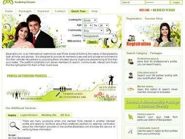 Matrimonial Web Application