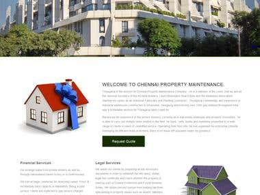 Chennai Property Management website