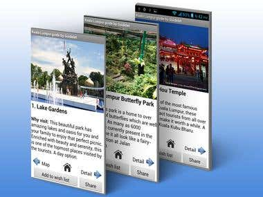 Malaysia Tour guide (Android)
