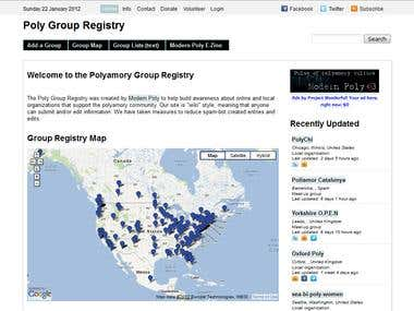 Poly Group Registry