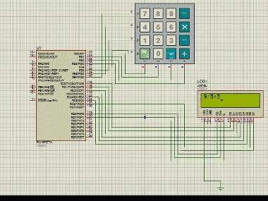 Pic 16F877A Calculator Project