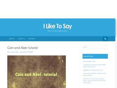 Ilikesay Website