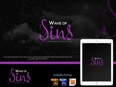 Logo For Wave of Sins