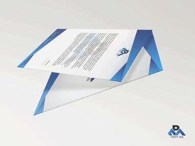 Construction company branding project