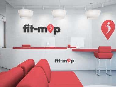 fitness branding logo