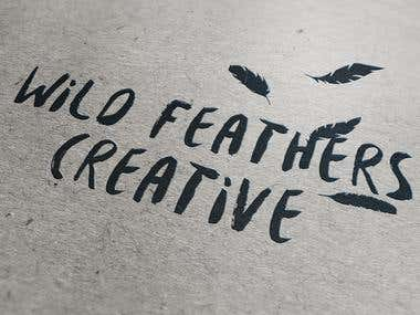 Wild Feathers Creative Logo