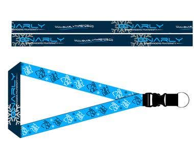 Gnarly Threads Lanyard