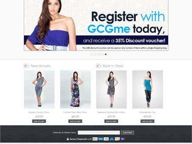 Magento theme customization for cloth store
