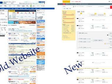 Website Usability modification