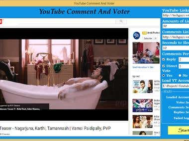 You Tube Commeter and Voter