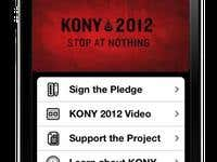 Kony 2012 iPhone App