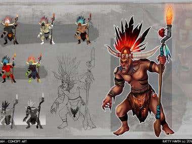 shaman concept