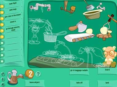Flash based Educational Games
