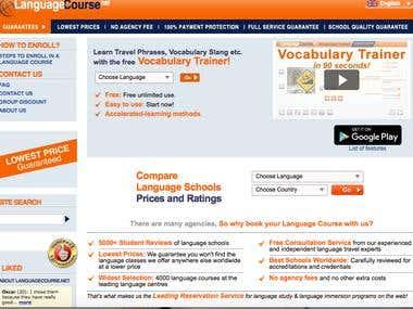 Translation of a website ENG-FIN 100 000+ words.