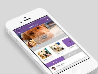 Mobile App - Pet Parent (iOS, Android)
