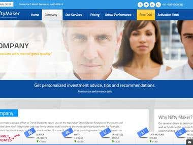 NiftyMaker Wordpress