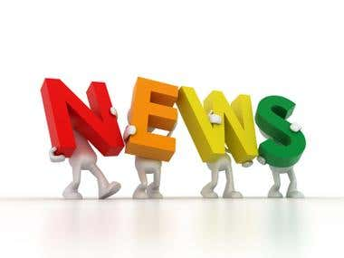 News and Information Technology