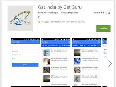 Gst India by Gst Guru Android App