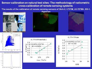 Remote sensing images processing