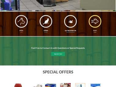 Pet Shop Ecommerce