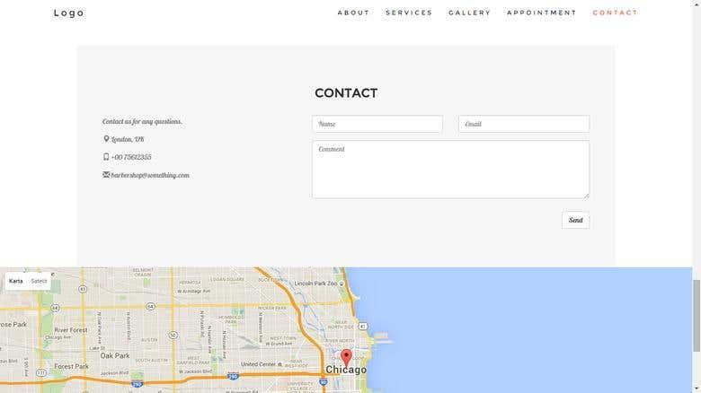 Business website example | Freelancer