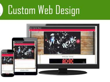 Custom Design for your needs!